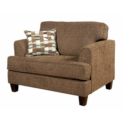 Serta Upholstery Davey Armchair Upholstery: Showcase/Wiggle