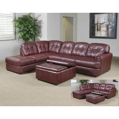 Three Posts THRE1314 Bismarck Sectional