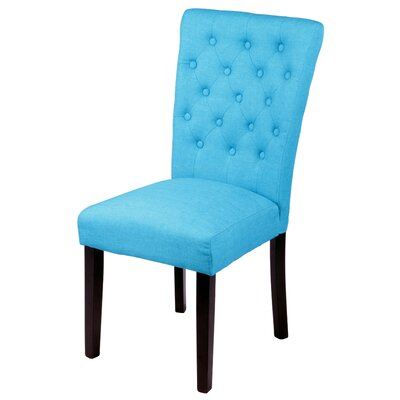 Mapletown Parsons Chair Upholstery: Frost Blue