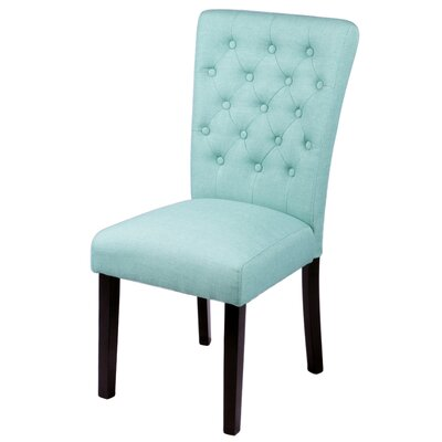 Mapletown Side Chair Upholstery: Sea Green