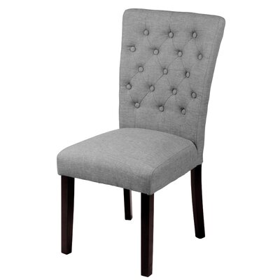 Mapletown Side Chair Upholstery: Grey