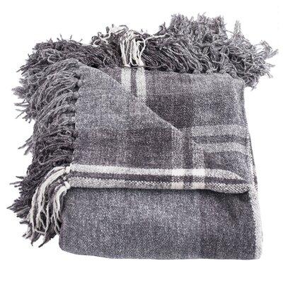 Lyman Throw Blanket Color: Gray