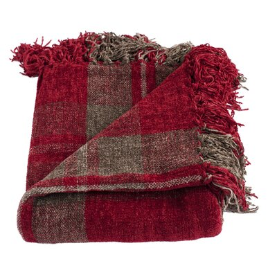 Lyman Throw Blanket Color: Red