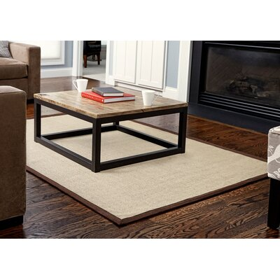 Sharpsburg Brown Jute Area Rug Rug Size: 8 x 10