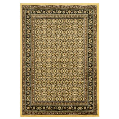 Northfields Yellow Area Rug Rug Size: 5 x 7