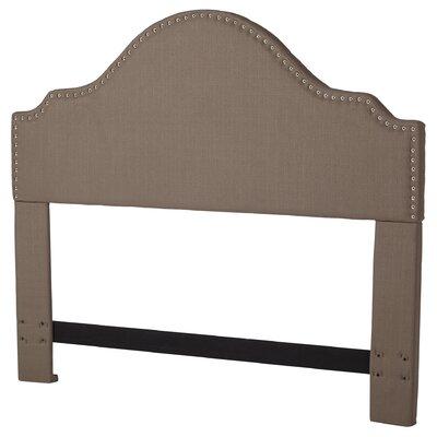 Clara Upholstered Panel Headboard Size: King/California King, Upholstery: Brown Sugar