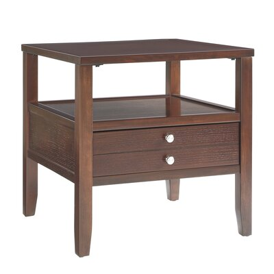 Millville 2 Drawer End Table