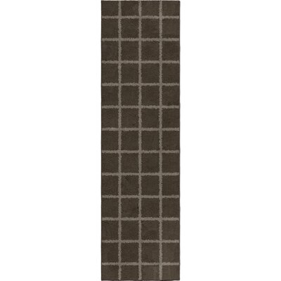 Dupont Taupe Area Rug Rug Size: Runner 23 x 8