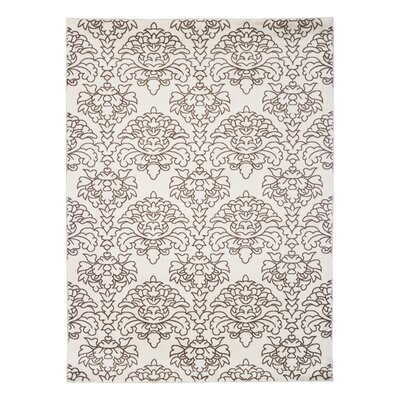 Elegance Damask Area Rug Size: Rectangle 5 x 73