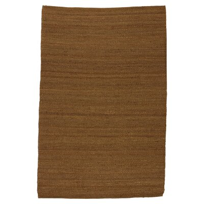 Laflin Hand-Woven Bark Area Rug Size: Rectangle 8 x 10