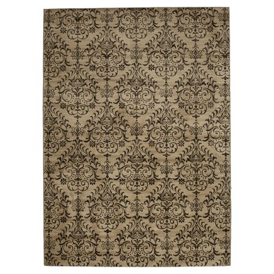 Lakeshore Beige Area Rug Rug Size: Rectangle 33 x 53