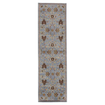 Brownville Gray Area Rug Rug Size: Runner 23 x 77