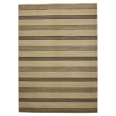 Pleasantville Beige Area Rug Rug Size: Rectangle 33 x 53