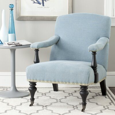 Beverly Armchair Upholstery: Light Blue