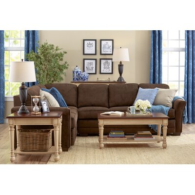 Three Posts THRE1820 Barnes Sectional