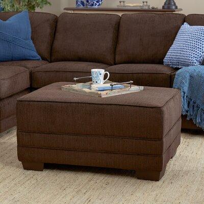 Serta Upholstery Barnes Upholstery Ottoman Upholstery: Radar Brown / EuphSprna / Jinx Spring