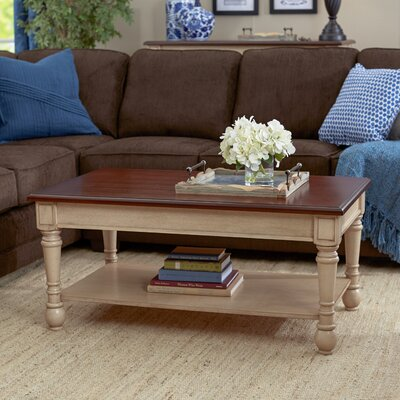 Classic Two Tone Coffee Table