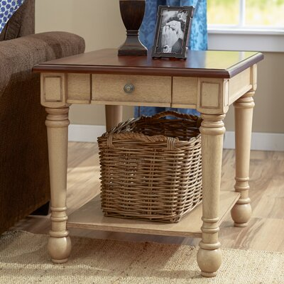 Classic Two Tone End Table