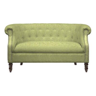 Huntingdon Loveseat Upholstery: Kiwi Green