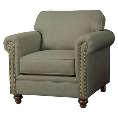 Serta Upholstery Caroll Armchair Upholstery: Hanover Bamboo