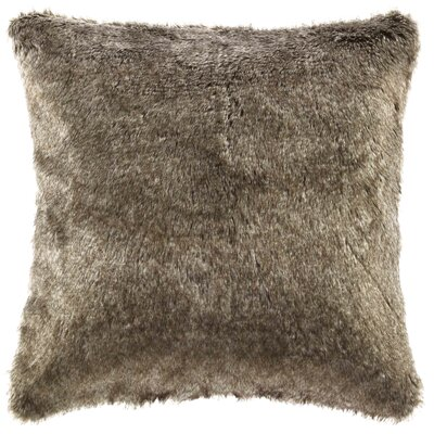 Lodge Faux Fur Throw Pillow