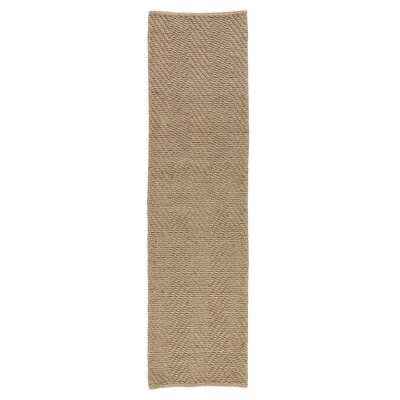Honesdale Natural Area Rug Rug Size: Runner 2 x 76