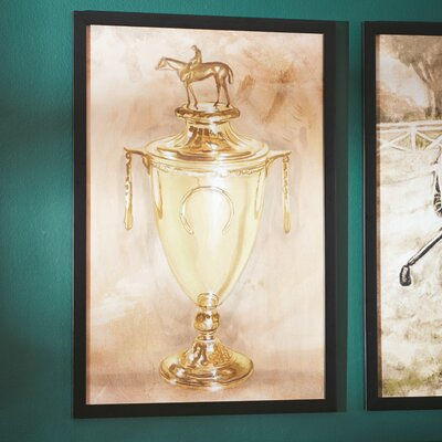 'Trophy of Trophies' Framed Painting Print on Canvas Size: 24