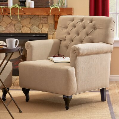 Philipsburg Arm Chair Upholstery: Oatmeal