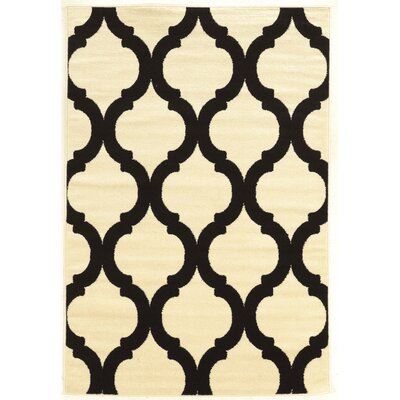 Divernon Ivory Area Rug Rug Size: Rectangle 5 x 7