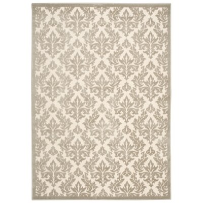 Weissport Ivory Area Rug Rug Size: Rectangle 53 x 73