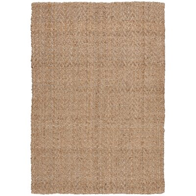 Rodgers Hand-Woven Brown Area Rug Rug Size: 5 x 7