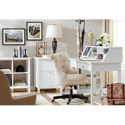 Ackerson 4 Piece Desk Office Suite