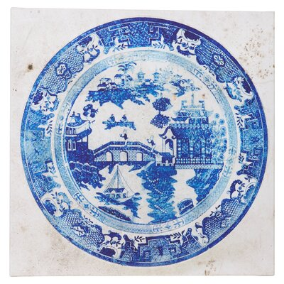 'Fajans China' Painting Print on Wrapped Canvas Size: 18