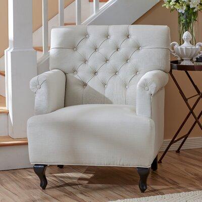 Philipsburg Armchair Upholstery: Ivory