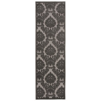 Weissport Silver/Gray Area Rug Rug Size: Runner 22 x 7
