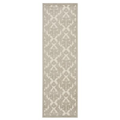 Weissport Ivory Area Rug Rug Size: Runner 22 x 7