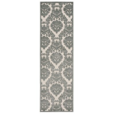 Weissport Ivory/Green Area Rug