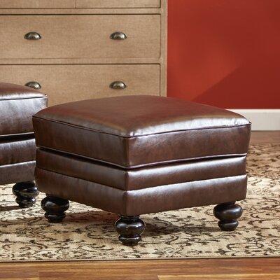 Croydon Bonded Leather Storage Ottoman