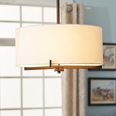 Avondale 3-Light Semi-Flush Mount Finish: Bronze