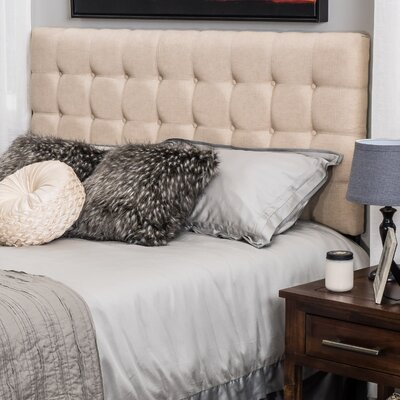 Pomfret Upholstered Panel Headboard Size: King / California King