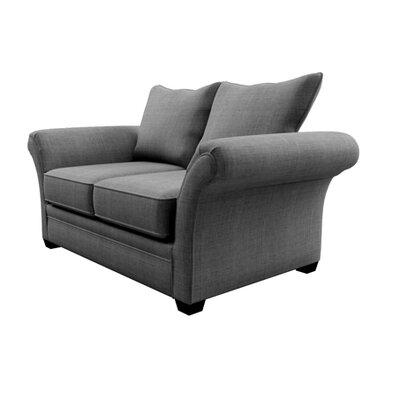 Serta Upholstery Belmont Loveseat Upholstery: Marlo Graphite / Tumbler Graphite