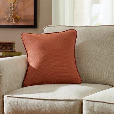 Doylestown Throw Pillow Color: Berrywine