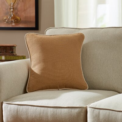 Doylestown Throw Pillow Color: Sable