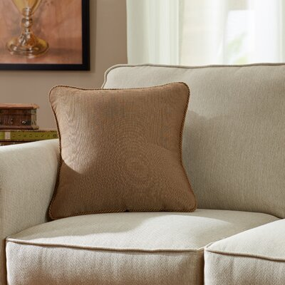 Doylestown Throw Pillow Color: Java