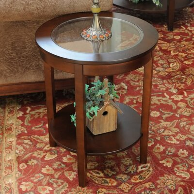 Fallsburg End Table Finish: Espresso