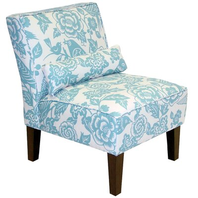 Dickinson Canary Dise Slipper Chair Fabric: Robin