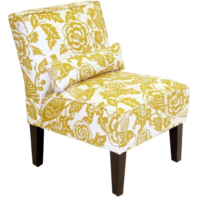Dickinson Canary Dise Slipper Chair Fabric: Maize