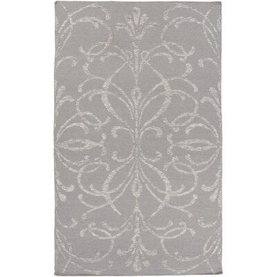 Unadilla Hand Woven Gray Area Rug Rug Size: 5 x 76