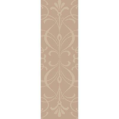 Delavan Hand Woven Beige Area Rug Rug Size: Runner 26 x 8
