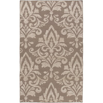 Delavan Hand Woven Brown Area Rug Rug Size: Rectangle 4 x 6